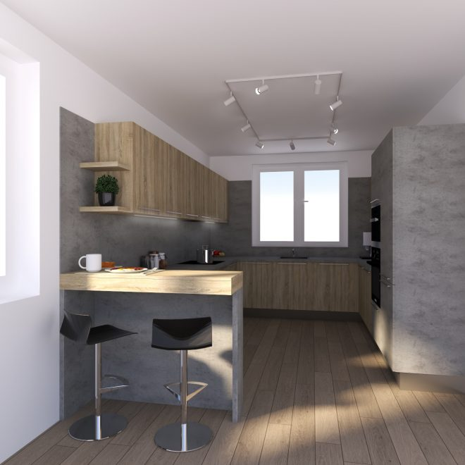 vizualizacia kuchyne a interieru na mieru trenčin qstudio (2)